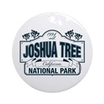 Joshua Tree National Park Round Ornament