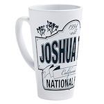 Joshua Tree National Park 17 oz Latte Mug