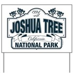 Joshua Tree National Park Yard Sign