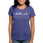 I Climb Like a Grrl Womens Tri-blend T-Shirt