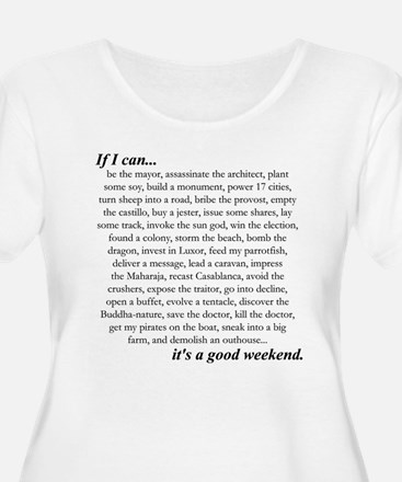 goodweekend Plus Size T-Shirt