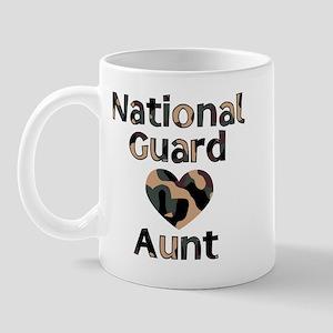 NG Aunt Heart Camo Mug