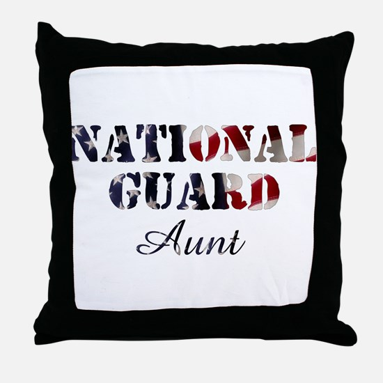 NG Aunt Flag Throw Pillow