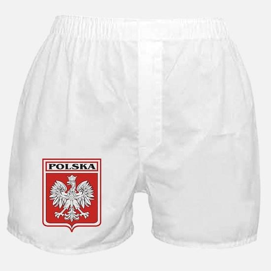 Polska Shield / Poland Shield Boxer Shorts