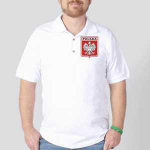 Polska Shield / Poland Shield Golf Shirt