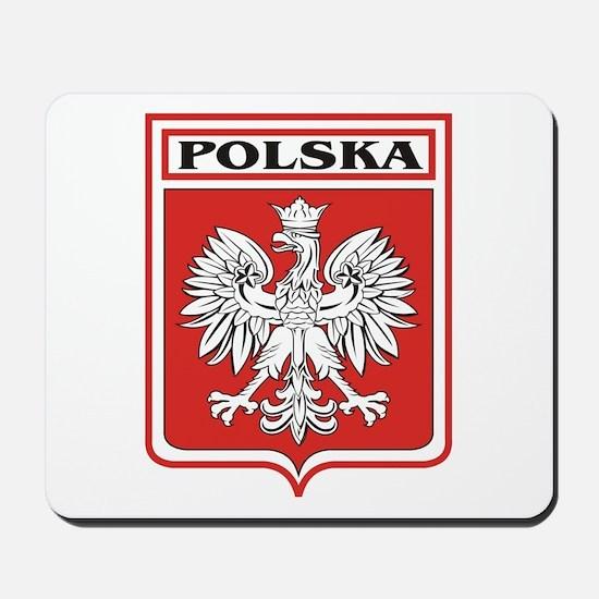 Polska Shield / Poland Shield Mousepad