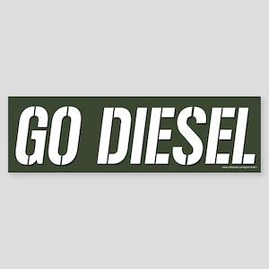 Go Diesel (sticker)