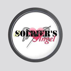 Soldiers Angel Wall Clock