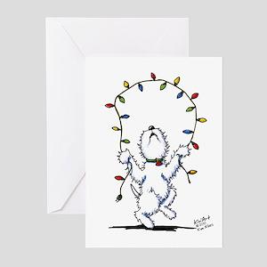 Joyful Christmas Westie Greeting Cards (Pk of 20)