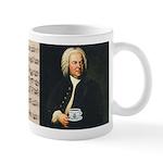 J. S. Bach - Prelude Sheet Music Mugs
