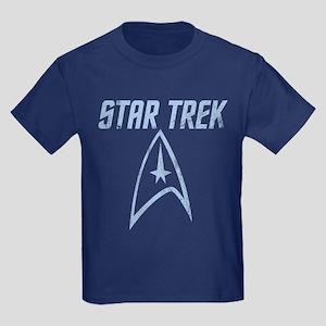 Vintage Star Trek Kids Dark T-Shirt
