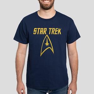 Vintage Star Trek Dark T-Shirt