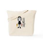 Broken Goth Doll Tote Bag