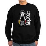 Broken Goth Doll Sweatshirt (dark)