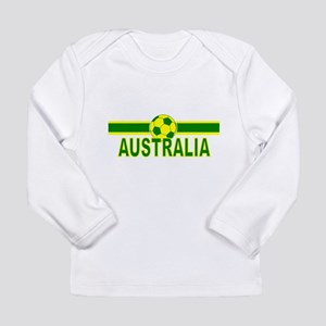 Aussie Soccer 2010 Long Sleeve Infant T-Shirt