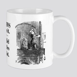 Double-Sided Alice & Fox News Mug