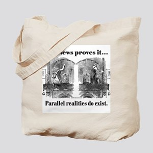 Single-Sided Alice & Fox News Tote Bag