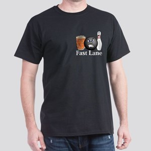 Fast Lane Logo 10 Dark T-Shirt Design Front Pocket