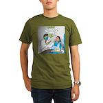 Zombie Dentist Organic Men's T-Shirt (dark)