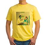 Zombie Dentist Yellow T-Shirt