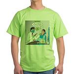 Zombie Dentist Green T-Shirt
