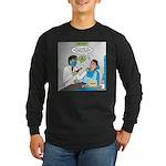 Zombie Dentist Long Sleeve Dark T-Shirt