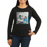 Zombie Dentist Women's Long Sleeve Dark T-Shirt