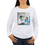 Zombie Dentist Women's Long Sleeve T-Shirt