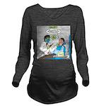 Zombie Dentist Long Sleeve Maternity T-Shirt