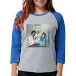 Zombie Dentist Womens Baseball Tee