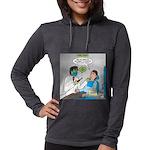 Zombie Dentist Womens Hooded Shirt