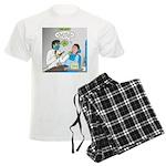 Zombie Dentist Men's Light Pajamas