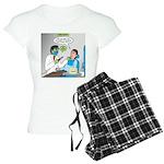 Zombie Dentist Women's Light Pajamas