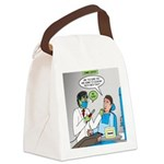Zombie Dentist Canvas Lunch Bag