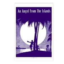 Angel From The Islands Postcards (Package of 8)