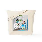 Zombie Dentist Tote Bag