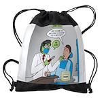 Zombie Dentist Drawstring Bag