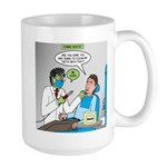 Zombie Dentist 15 oz Ceramic Large Mug