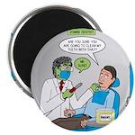 Zombie Dentist Magnet