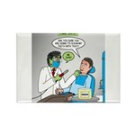 Zombie Dentist Rectangle Magnet