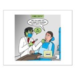 Zombie Dentist Small Poster