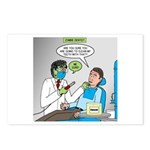 Zombie Dentist Postcards (Package of 8)