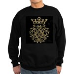 J. S. Bach Royal Seal Black Sweatshirt