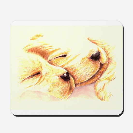 Golden Dreams Mousepad