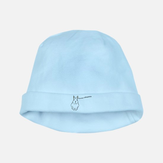 bunny whisperer Infant Cap