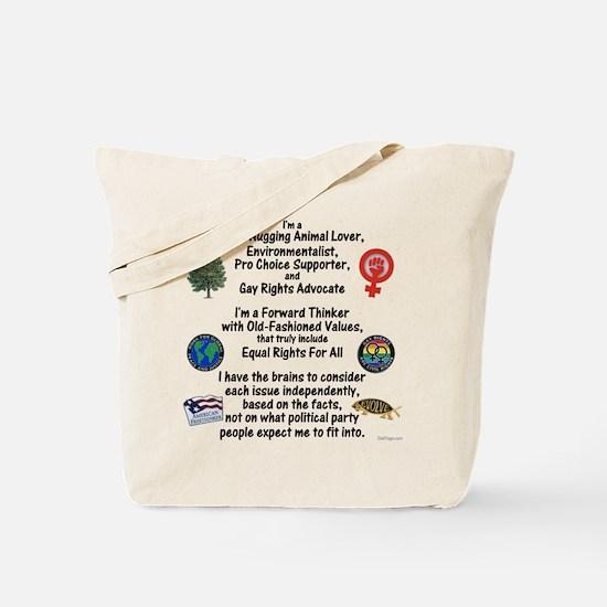 Independent Thinker Tote Bag