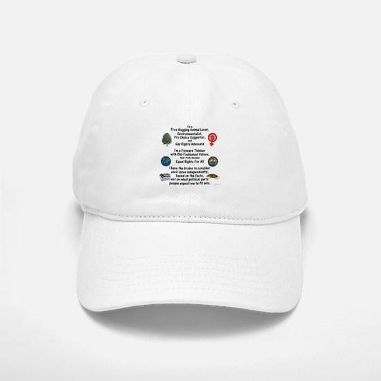 Independent Thinker Baseball Baseball Cap