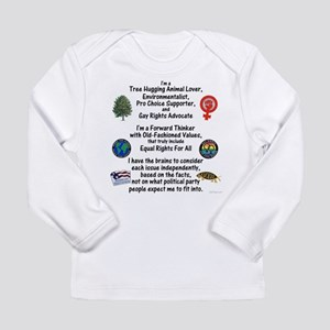 Independent Thinker Long Sleeve Infant T-Shirt