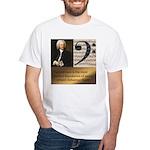 J. S. Bach Figured Bass Quote Men's T-Shirt