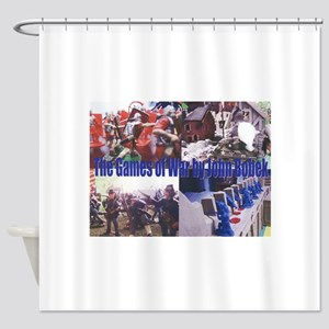 The Games of War magnet Shower Curtain